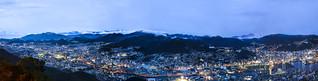 Panoramic View of Nagasaki City from Mount Inasa