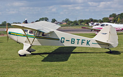G-BTFK Taylorcraft BC-12D (PlanecrazyUK) Tags: fly in sturgate taylorcraftbc12d 070615 egcv gbtfk