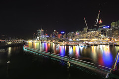 7312-7328-2 (Rmonty119) Tags: travel water night canon harbour sydney vivid australia 1112canon