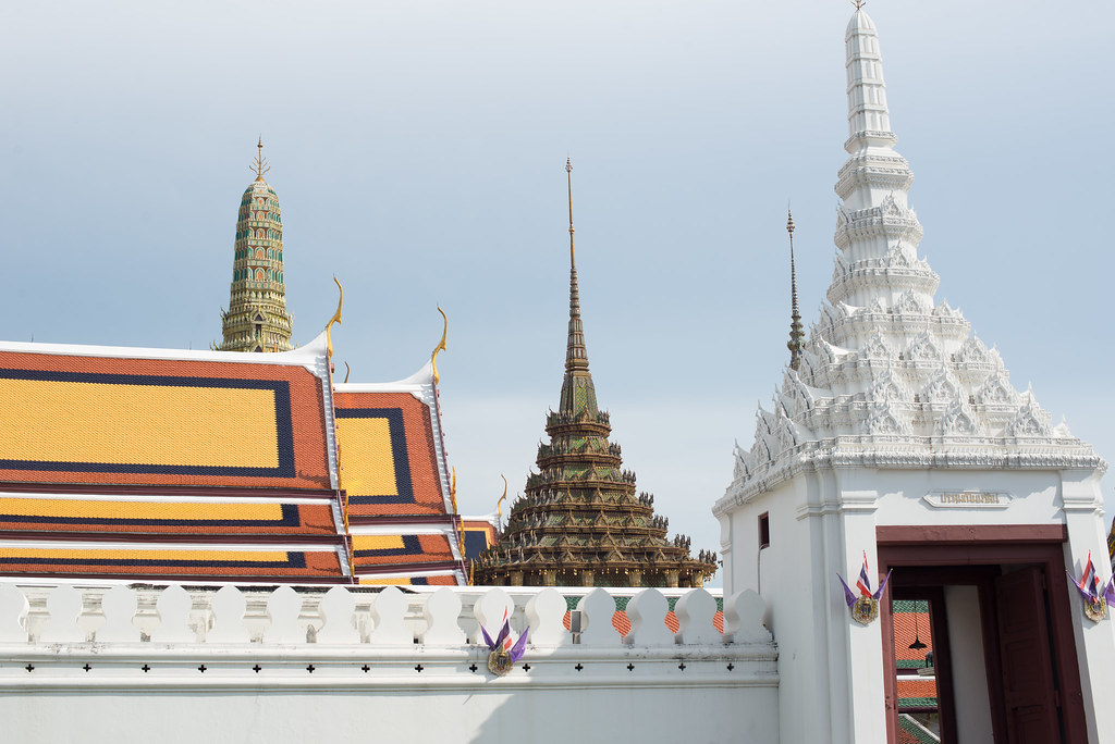 Stupa roofs