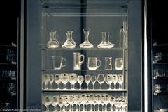 Earth of glass (ReoBerto) Tags: life italy white cup glass shop still cabinet interior indoor vetrina pitcher showcase vetro transparencies goblet esposizione tazza trasparenza calice