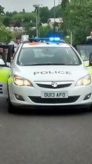 Herts police Corsa (slinkierbus268) Tags: bluelights vauxhallastra hertfordshirepolice