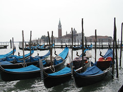 Venice gondelas (Jae at Wits End) Tags: blue venice italy water boat canal gondola gondolier