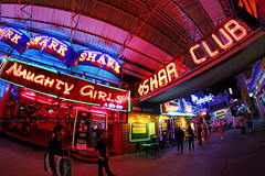Red Neon / Naughty Girls A Go Go & Shark Club / Pattaya Walking Street / Thailand (I Prahin | www.southeastasia-images.com) Tags: girls red beer club night thailand women neon dancers teens tourists fisheye hostess nightlife gogo redlight prostitutes infamous hookers pattaya redneon beerbar gogobar supergirls bargirls poledancers centralpattaya thaiwomen samyang rokinon sextourists samyangrokinon12mmf28edasncsfisheye