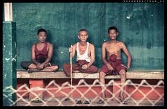 Yangon City Loop, Oaklapa Station and Friendly Guys (ayechan26) Tags: street people man nikon yangon myanmar dslr lightroom d600 28300mmf3556