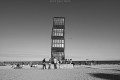 Barcelona beach (Berto Ribas - Ibiza, Spain) Tags: barcelona street city trip summer espaa holiday spain nikon holidays explorer streetphotography catalonia adventure explore views verano citylandscape catalua d7100 nikond7100 tripphotography