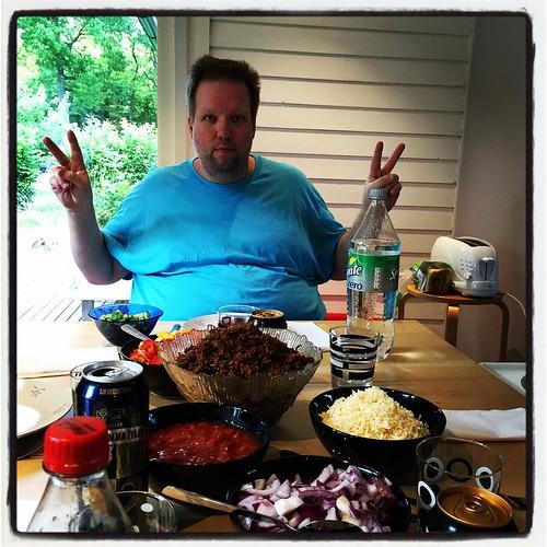 Tacoskocken! Tack kocken! #tacos #öland2015