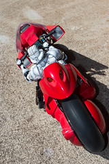 Changing Stations (katsuboy) Tags: anime starwars stormtroopers stormtrooper motorcycle akira kaneda projectbm variantplayartskai