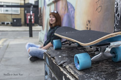Nina (SandraPardoGerena) Tags: london beauty cool londres skateboard bricklane patineta latviangirl