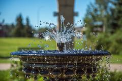 Red Deer, AB (memories by Mark) Tags: fountain alberta reddeer