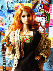 The Seven Wonders Capsule Collection - Teleknesis OOAK - SOLD OUT! Thank you so much! (KoTori Couture) Tags: summer couture 2015 dollclothes kotori fashiondolls