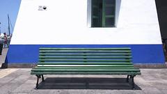(Mateusz Mathi) Tags: blue summer white green bench de puerto spain mini lg gran g2 canaria mogan mateusz 2015 mogn mathi hiszpania wyspy kanaryjskie