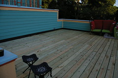 The completed deck