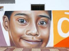Graffiti / Street Art (paramonguino) Tags: streetart graffiti tenerife canaryislands islascanarias kanarischeinseln adeje 240715 p1290842 copiarw842jpg murodelaconvivencia