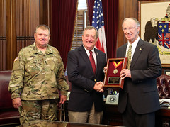 08-07-2015 Governor, Rep. Drake awarded for support of National Guard