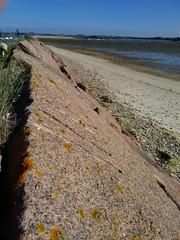 IMG_20150808_175756 (KaRiNe_Fr) Tags: orange france bretagne bateaux bleu lichen plage rochers finistère granit marée steanne stpoldeléon