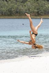 Gymnastics on the Beach-4905 (Andrew Panshin) Tags: people gymnastics beach island fraserisland queensland australia canon5dmk3 canon70200mm