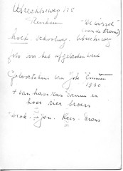 Renkum Utrechtseweg 133 Huis Familie later de schilder J Emmen afgebroken in tekst 1949 Collectie Joke Emmen (Historisch Genootschap Redichem) Tags: renkum utrechtseweg 133 huis familie later de schilder j emmen afgebroken tekst 1949 collectie joke