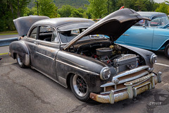 Chevrolet Deluxe (Barry Cruver) Tags: exif:aperture=ƒ11 exif:focallength=38mm exif:make=nikoncorporation exif:isospeed=64 exif:lens=2401050mmf40 exif:model=nikond810 camera:model=nikond810 camera:make=nikoncorporation chevy chevrolet deluxe carshow black outdoors jimthorpe shriners patina car vehicle outdoor 1949