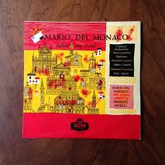 Mario del Monaco - Italian Song Recital, Orch. Ernesto Nicelli, Decca LW 5168, 10 inch, 1960 (Piano Piano!) Tags: mariodelmonacoitaliansongrecital orchernestonicelli deccalw5168 10inch 1960