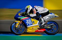 Stefano Vatulini - Le Mans 2016 (timclayton2) Tags: stefano valtuulini moto3 lemans 2016 43 xlite teamitalia 3570it