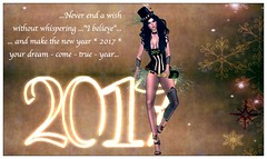 Happy New Year 2017 (mondi.beaumont) Tags: sl secondlife avi avatar girl woman greeting celebrate celebration new year wish wishes 2017 blessing friend friends fashion pose poses posing retro burlesque corset sam samposes irrisistible shop