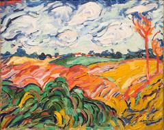 The Wheat Field (Champs de Blé), 1906 (Jonathan Lurie) Tags: vlaminck oil painting canvas maurice de art museums modern museum wisconsin fauvist fauvism milwaukee mam artinmuseums mauricedevlaminck milwaukeeartmuseum milwaukeewisconsin modernart oilpainting oiloncanvas unitedstates us