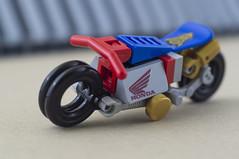 Nobu and his Honda Ahoudori (07) (F@bz) Tags: cyberpunk bike motorcycle lego wheel sf space scifi akira honda moc