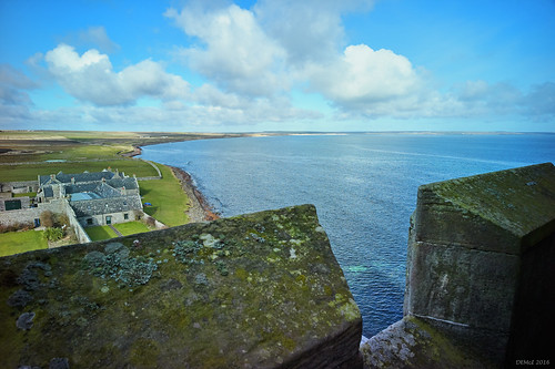 View NW from Ackergill Tower