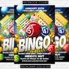 Bingo Day - Premium Flyer Template (ExclusiveFlyer) Tags: bingo bingocard casino church competitiontournament contest event flyer fundraiser gambling