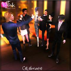 KaTink - Celebrate (Marit (Owner of KaTink)) Tags: katink annemaritjarvinen my60lsecretsale 60l secondlife sl photography 3dphotography salesinsecondlife