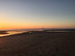 Neon near fareham sunset over Southampton water (muppets2muppets) Tags: calshot southamptonwater sunset
