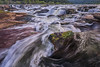 Turbulent Waters (wvrivers) Tags: appalachia hinton newriver westvirginia blurred day falls flow horizontal light moss mountains outdoors rapids rectangle river rocks sandstone stone trees turbulence water waterfall waterfalls white