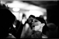 CatherineKevin9.24.16_306 (Johnny Martyr) Tags: dance dancing girl darkness shadow light shadows lights angles lines moment angular exhale breathe breath bw blackandwhite grain grainy leica leitz boke bokeh focus soft rangefinder primelens leicam6 leicasummarit leitzsummarit 5cm15summarit 50mm15 50mm film 35mm 35mmfilm blackandwhite35mmfilm party reception wedding portrait candid documentary photojournalism