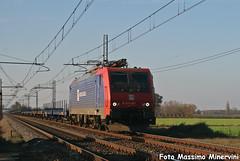 E474.201 NC (Massimo Minervini) Tags: e474 e474201 db dbsri dbschenkerrail nordcargo nc cadeo piacenza traxx pianali lineamilanobologna railroads rail train trenes trainz canon400d ferrovia treno winter