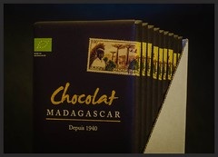 Madagascar chocolate (frankmh) Tags: food sweet chocolate cocoa purecocoa madagascar hittarp sweden indoor