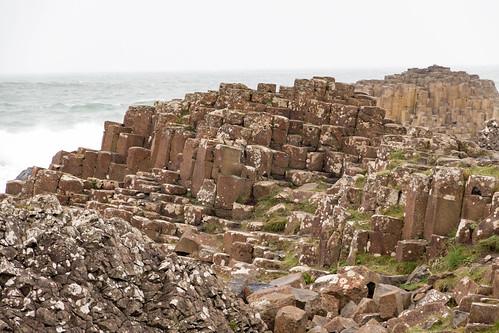 Giant's Causeway: Basalt columns