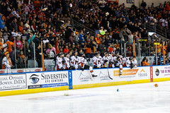 "Missouri Mavericks vs. Wichita Thunder, January 7, 2017, Silverstein Eye Centers Arena, Independence, Missouri.  Photo: John Howe / Howe Creative Photography • <a style=""font-size:0.8em;"" href=""http://www.flickr.com/photos/134016632@N02/32210096336/"" target=""_blank"">View on Flickr</a>"