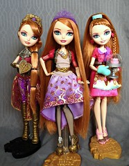 Bouquet Of Hollies (honeysuckle jasmine) Tags: mattel ever after high holly ohair rapunzel doll dolls dragon games basic sugar coated