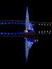 Le Pont Bleu (¡! Nature B■x !¡) Tags: paysage landscape bateau boat pont bridge nuit night réflexion reflection étang pond france provence martigues venise provençale provençal venice bleu blue