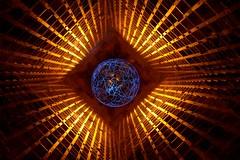 OCD tingling (palateth) Tags: lightpainting lightart night belgique belgie belgium nophotoshop singleexposure industrial urbex abandonnedplace orange crt camerarotationtool