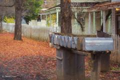 Mailboxes (HFF) (buffdawgus) Tags: autumn california canon5dmarkiii canonef24105mmf4lisusm fall humbug lightroom5 mailbox mailboxes malakoffdiggins nevadacounty northbloomfield northerncalifornia sierranevadafoothills sierranevadarange topazsw