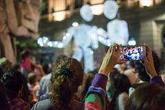 Capture (leoleamunoz) Tags: teatro santiago noche luces light teather art arte callejero calle performance cellphone celular camara