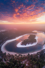 Tropical Island (albert dros) Tags: air drone netherlands dutch albertdros tropics henschotermeer lake sunset tropical aerial woudenberg utrecht nl