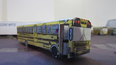 X263 - Educational Bus Transportation Bus 331 (Etienne Luu) Tags: ic bus fe paper cardstock model school
