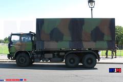 BDQJ09-4058 RENAULT G290 VTL (milinme.myjpo) Tags: frencharmy renault g290 vtl véhicule de transport logistique remorque rm19 trailer bastilleday