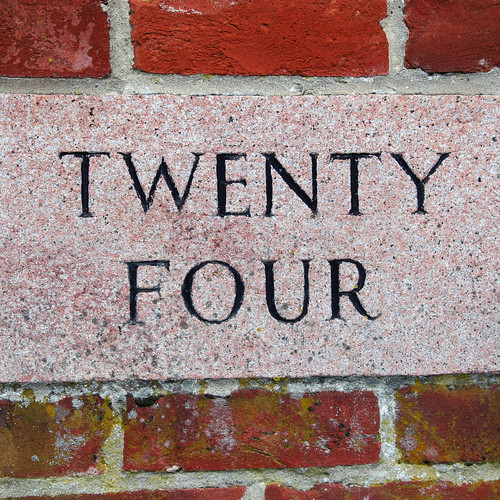TWENTY FOUR by Leo Reynolds