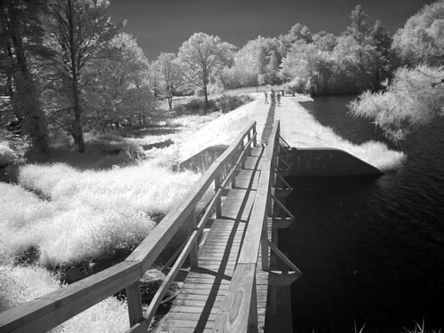 Dam & Bridge, Infrared