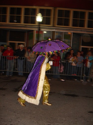 At Order of Inca Mardi Gras Parade, Mobile AL