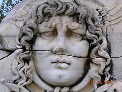 Medusa's gaze (jakebouma) Tags: turkey ancient ruins frieze medusa myth didyma romanandhellenicsitesinturkey jakebouma